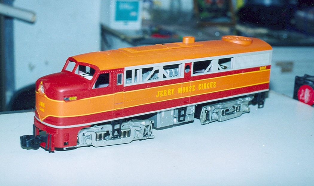 Do you have something that you want painted for your special railroad even if decals are not available in most cases we can make them and